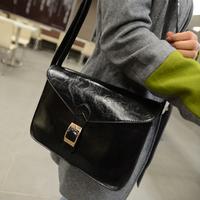 Free shipping 2014 messenger bag vintage fashion small bags fashion preppy style women's handbag one shoulder cross-body