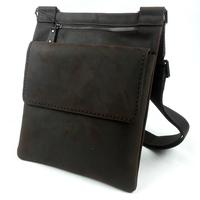 Crazy horse vintage leather handmade genuine leather cross-body leather bag casual shoulder bag