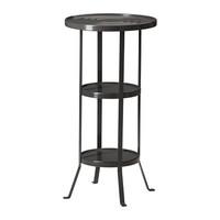 1 piece powder coating steel bathroom stool, pedestal table