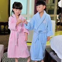 shipping free! Indian hilift fiber terry child bathrobe hooded toweled teenage bathoses  hot sell!