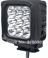 1Pieces 5INCH 9pcs*5w 45W high intensity CREE LED Driving Light 10-30V IP67 Waterproof FOR OFF Road Use Motorcycle Flood Beam