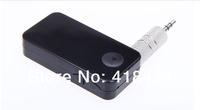 20pcs Wireless Car Bluetooth 3.0 Stereo Music Audio Receiver for iPhone iPad iPod Samsung Smartphones Handsfree car kit