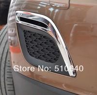 2009-2013 Volvo XC60 ABS Chrome Front Fog light Lamp Cover Trim  jmkj88
