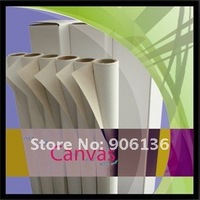 """60""""*18m 260gsm matte polyester  canvas waterproof for dye ink"""