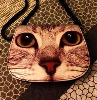 2014 women's summer fashion handbag animal print bag cartoon dog one shoulder bag cat cross-body bags women messenger bag