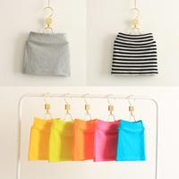 Children's clothing female child skirt all-match short skirt miniskirt step skirt multicolor