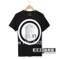 2014 giv embroidery circle 17 garland lovers short-sleeve T-shirt design