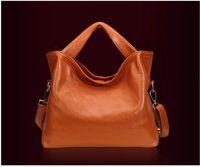 NEW Best Top Real Genuine Cowhide Leather Women Handbag Tote Shoulder Messenger Bag