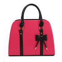 2014 candy color block handbag shaping one shoulder cross-body white women's handbag women's bags