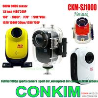 Free Shipping!Full HD1080P Sport Helmet Outdoor Camera CKM-SJ1000 Underwater 30m Mini DV Camcorder H.264 1920*1080p Sports HD DV
