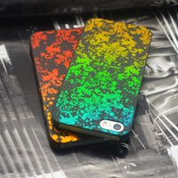 New design colorful mobile phone bag case for iphone 4 4S Noble pattern hard plastic back cover for iphone4 iphone4S