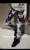 Cool Dye Ink Jeans Pants for Uncle 1/3 1/4  SD17 Uncle BJD Super Dollfie Clothes
