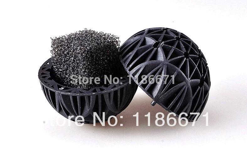 Free shipping 50pcs Aquarium 16MM honeycomb Bio Balls Filter Media New Des(China (Mainland))