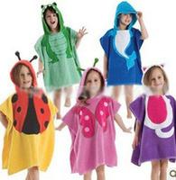 2014 Children animal shapes bathrobe / cartoon hooded bathrobe / baby bathrobe 1269418042 x 1404