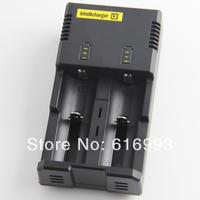 US Plug Nitecore I2 Intellicharger Intelligent Charger 2-Slot Universal Li-ion/ Ni-MH/ Ni-Cd Battery Charger Free shipping