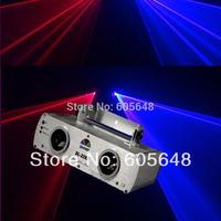 DL-22RB 500mW Red & Blue RB Dual Lens Laser Stage Light Disco DJ Xmas Lighting Bean Show