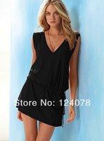 Women Dress Skirt Sexy Bikini Beachwear Swim Cover-up New Summer Fashion Slim Beach Dress 10 Colors
