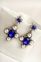 2014 new hot sale pearl  drop earring for women E1310227