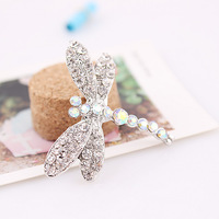 1432#Min.order is $10{ mix order }.Europe and the United States jewelry,2  fashion Dragonfly  brooch.