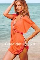 Brand New Women Beach Dress Sexy Swim Cover up Skirt Beachwear Swimsuit summer Bikini Beach Dress 15 Colors Wholesale