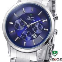 Free shipping 2014 WEIDE 3312 Unique Design Men Sports Watch Military Watch 3ATM Japan Quartz Watch Business Watch