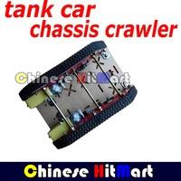 1PCS caterpillar Smart Intelligent Barrowload tank Car robot  car Crawler chassis wheel  track Integrated motor 16 steel#RR14