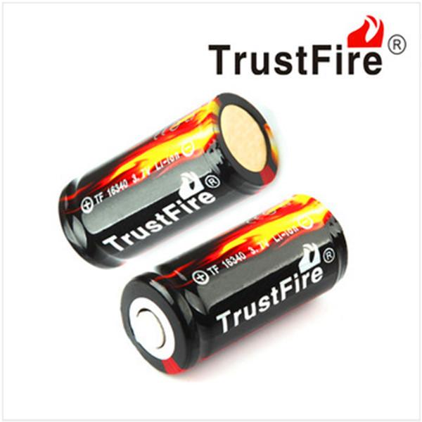 Аккумулятор Origianl Trustfire 16340 880mah li/ion 16340 18650 trustfire 18650 1500mah 3 7v li ion battery for flashlight red black 2 pcs