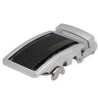 Men   belt   New Arrived 100%  silver  alloy spilt belt for men  B41110209 Free shipping
