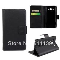 100Pcs/Lot, Mix Color, PU Leather Wallet Flip Case Cover For Huawei Ascend Y530
