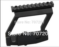 Heavy Duty Tactical Army Force AK Side Rail Lock Scope Mount Base Gun Accessories fo Rifle 5pcs/lot