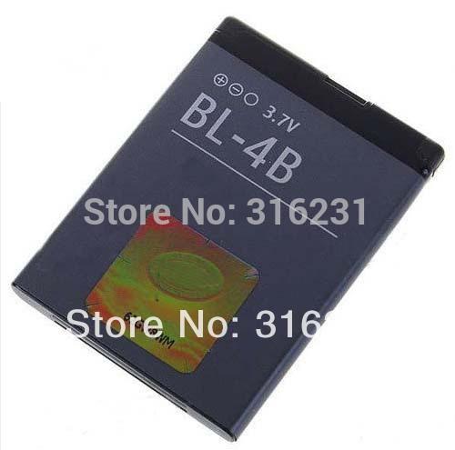 BL-4B Battery BL 4B for Nokia N76 5000 5320XM 7070 2505 2630 2660 2760 7088 2730 6111 7370 7373 N75(China (Mainland))