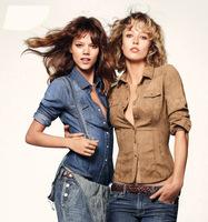траншею женщин мода slim женщин весной и осенью двойной грудью Тренч средней длины женщин верхняя одежда
