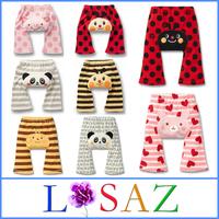 4pcs/Lot Summer Unisex Girls Cartoon Animal PP Pants Cotton Baby Boy Romper Petti Baby Rompers Baby Clothing