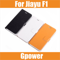 In Stock 100% Original Leather Case For Jiayu F1 F1W With High Quality Flip Cover Protective Case For Jiayu F1 F1W Phone/ Laura