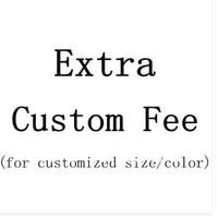 Extra Custom Fee For Custom Made Color/Size