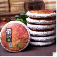 700g/lot Ripe 100% Organic Pu er Tea Health Care Weight Loss green Food Chinese PUer teas health Black tea 7pcs/lot