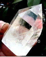 0076jhh AAA NATURAL TRANSPARENT CLEAR QUARTZ CRYSTAL POINT Healing