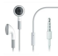 2000pcs/lot Promotion price 3.5mm Stereo in ear Earphone Headset With Mic for iPho 5S 5C 5 4S  and all mobile phone