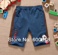 boys summer short  kids Middle pant clothing , kids garment