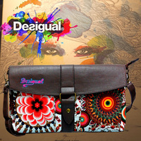 2014 New DESIGUAL Women's Hand bag Messenger Shoulder bags Dinner Clutch bag size 35*21 #009