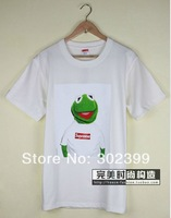 Hotsell Sup tee,funny frog shirt men's T shirt black white for choice free shipping sup kermit tee