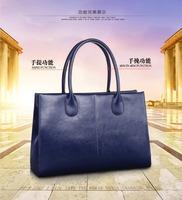 NEW 2014 Hotsale Genuine cowhide leather Women's handbag Tote bag Shoulder bag Many colors