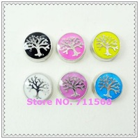 New Family Tree Floating Charm Life Tree Floating Pendants For Floating Glass Locket DIY Accessories