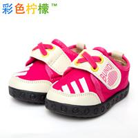 Shoes long 11.5-14cm children sneakers cartoon athletic shoes Kids canvas shoes baby shoes children single shoes sport shoes