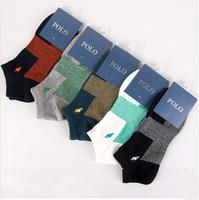 Free shipping new arrival brand polo men socks 10pics=5pair=1Lot men's socks sport socks cotton polo socks