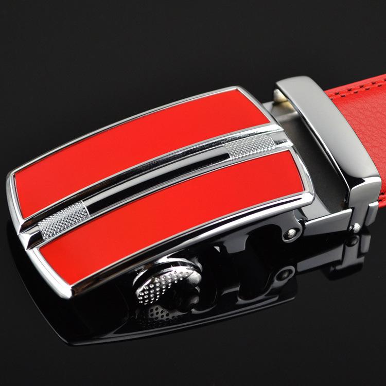 Aliexpress.com : Buy The red belt Benmingnian man leather belt ...