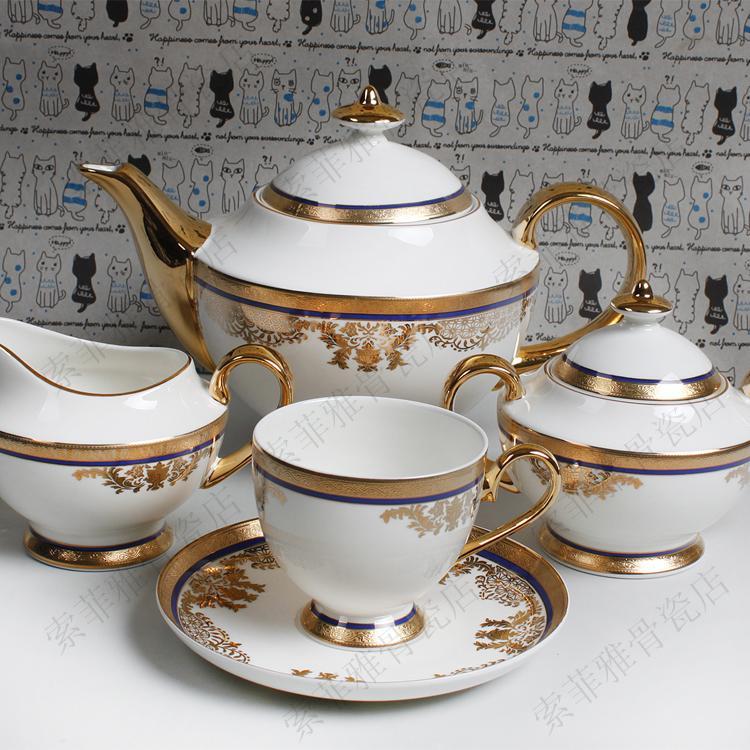 Online Get Cheap Gold Tea Set Alibaba Group