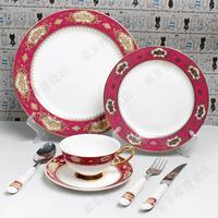 Swing sets western-style tableware guzhici lovers tableware romantic dinnerware set gift