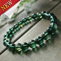 Free Shipping Natural Green Tourmaline Luxury Women Bracelets Fashion Crystal Stone Jewelry Wholesale
