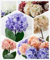 (20pcs/lot) Free shipping Single big guelder artificial flower silk flower decoration flower home soft floor flower